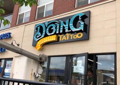 Doing Tattoo
