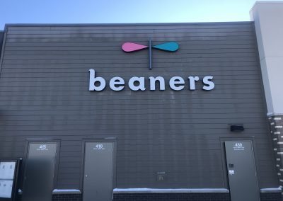 Beaners Rear elevation